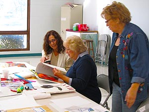 Senior Center Craft Room