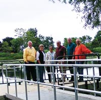 Observation Pier at Army Trail Nature Center