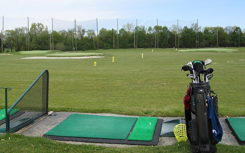 Links & Tees Driving Range.