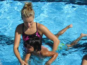 Outdoor Swim Lessons
