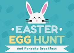 Easter Egg Hunt Pancake Breakfast
