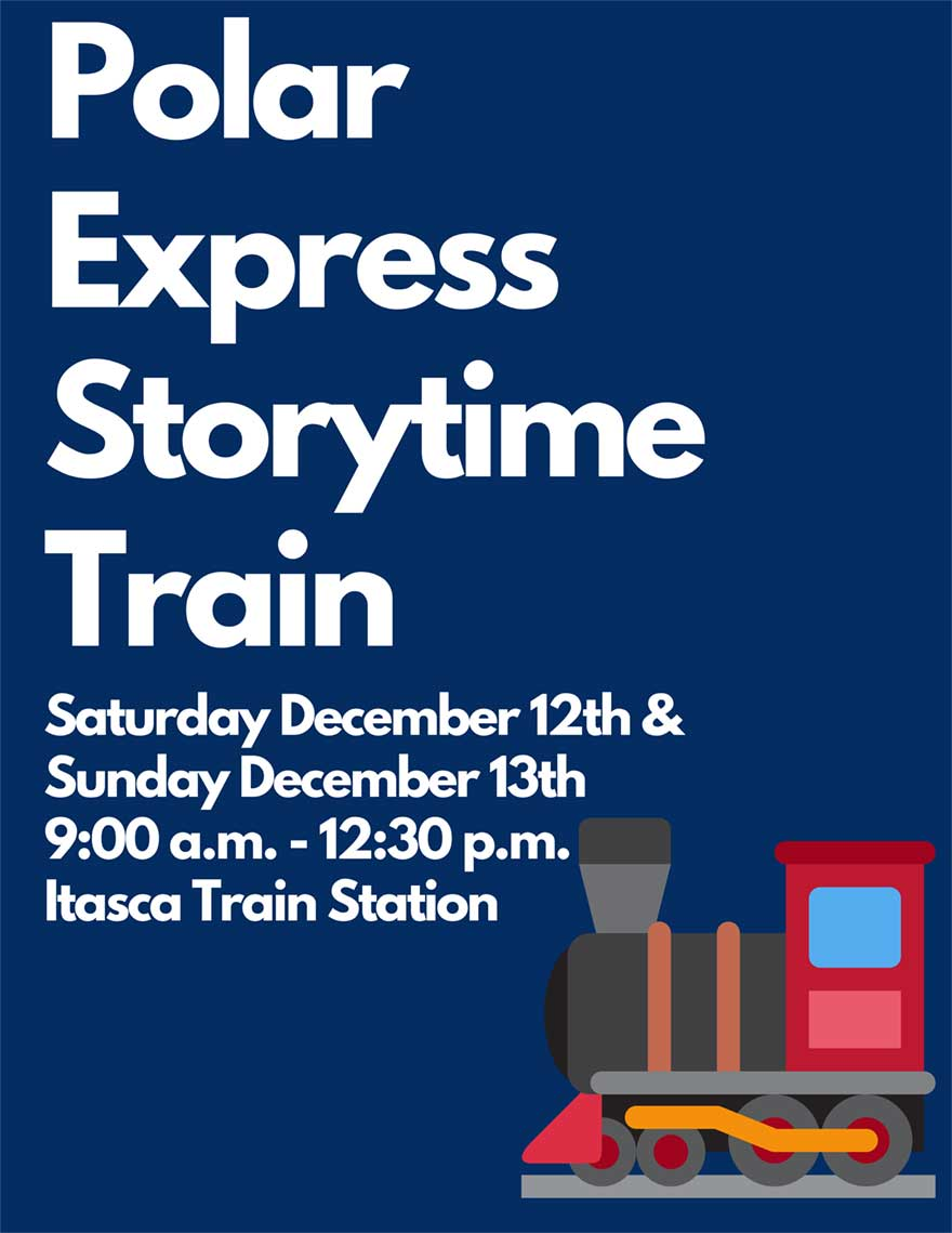 Polar Express Storytime Train