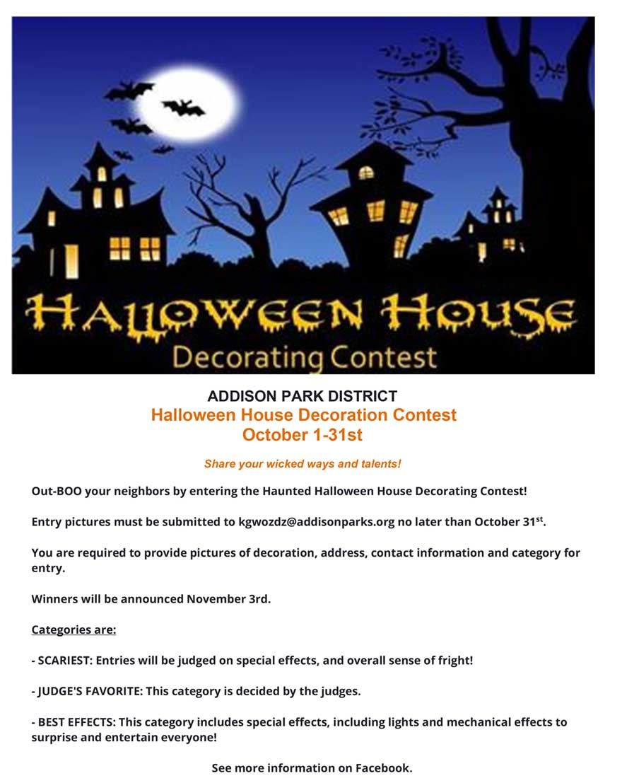 Halloween House Decoration Contest